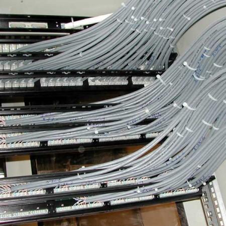 Монтаж структурированых кабельных сетей